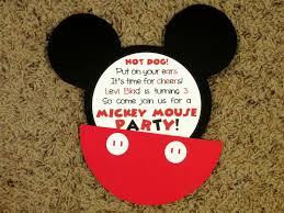 mickey mouse birthday party invitations iidaemilia com mickey mouse birthday party invitations is most katadifat ideas you could choose for birthday invitations sample 18
