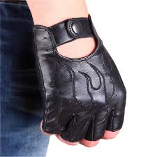 Breathable Hollow Men And Women <b>Genuine Leather</b> Gloves Wrist ...