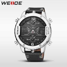<b>WEIDE Men Sports</b> Analog LCD Digital Military Army Chronograph ...