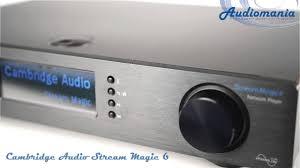 <b>Сетевой проигрыватель Cambridge</b> Audio Stream Magic 6 ...