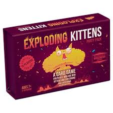 <b>Exploding Kittens Party</b> Pack Game : Target