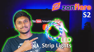 RGB <b>LED Strip Light</b> with 1200+ Color Changing Options | Zanflare ...