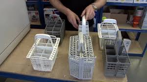 Silverware Dishwasher How To Replace A Dishwasher Cutlery Basket Youtube