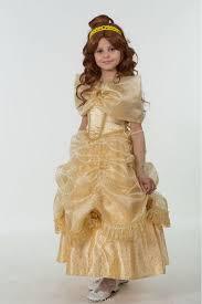 Батик <b>Костюм карнавальный для девочки</b> Принцесса Белль ...