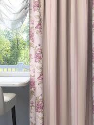 Купить <b>комплект штор</b> «Марилси» розовый, зеленый по цене ...