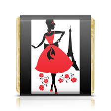 <b>Шоколадка 3</b>,<b>5</b>×<b>3</b>,<b>5 см</b> Красивая девушка в Париже #1557375 от ...