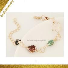 China <b>Newest Design</b> Zircon Rhodium Plated Jewelry Bracelet ...
