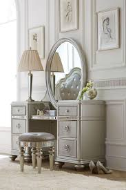 images hollywood regency pinterest furniture: the havertys brigitte vanity with mirror brings the old hollywood glam look to your bedroom