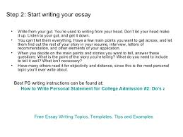 how to start a personal essay for college wwwgxartorg