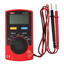 Портативный <b>мультиметр UNI-T UT120C</b> — купить в интернет ...