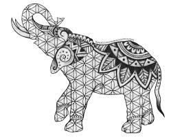 Small Picture Indian Elephant Coloring Pages Coloring Pages