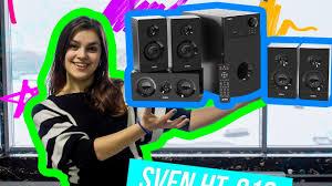 Обзор шестиканальной акустики <b>Sven HT</b>-<b>210</b> - YouTube