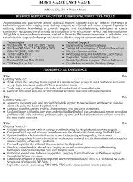 senior desktop support resume sample template desktop support resume sample