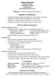Medical receptionist, Resume and Resume cover letters on Pinterest Resume Sample Receptionist or Medical Assistant