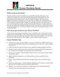 career portfolio template template career portfolio template