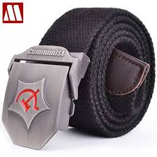 Online Shop 2019 New Men Automatic buckle <b>Belt</b> Thicken <b>Canvas</b> ...