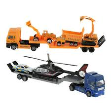 <b>Alloy</b> Diecast Car <b>Transporter</b> Trailer <b>Truck 1:43</b> Vehicle Model Toys ...