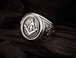 Freemason Masonic Ring, Freemason Master Ring ... - Amazon.com