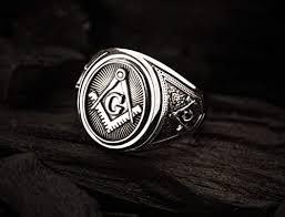 Freemason Masonic Ring, Freemason Master Ring ... - Amazon.com