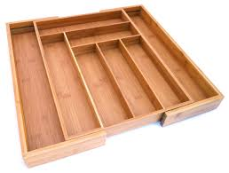 expandable drawer organizer ddeffeebcbbea  marvelous culina bamboo utensils drawer expandable x entryway organiz