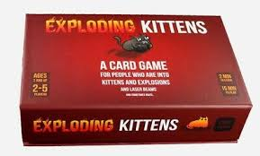 <b>Imploding Kittens Great Party</b> Game Perfect Birthday Gift Brand Toys ...