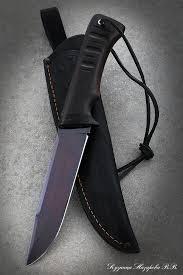 """<b>Нож</b> Вепрь - """"Чёрный <b>нож</b>"""" купить в интернет-магазине ножей ..."""
