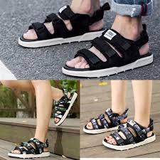Unisex <b>Sandals casual</b> shoes Korean <b>couple sports</b> tide men's ...