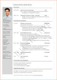 10 cv format professional event planning template s cv template