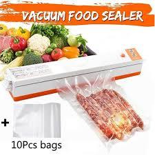 110V/220V <b>Household Food Bag</b> Vacuum Sealer Packing Auto ...