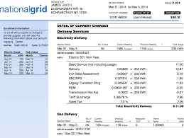 understanding your national grid bill in new york state national grid bill sample page 2