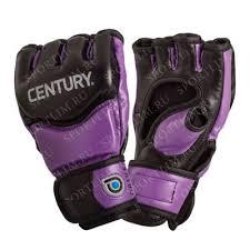<b>Перчатки тренировочные</b> женские (black/purple) L <b>CENTURY</b> ...