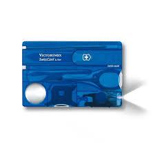 <b>Швейцарская карта Victorinox SwissCard</b> Lite - Синяя (0.7322.T2)