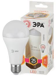 <b>Лампочка</b> светодиодная е27 25 Вт груша теплый свет <b>Эра</b> ...