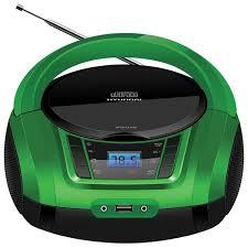 <b>Магнитола Hyundai H-PCD360</b> черный/зеленый купить в ...