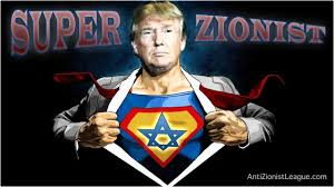 Image result for ZIONIST Trump CARTOON