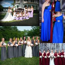 <b>Sexy Women Bridesmaid</b> Multiway Dresses Long Formal Wedding ...
