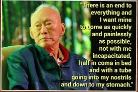 Image result for lee kuan yew quotes