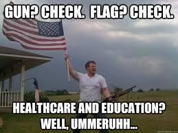 Overly Patriotic American memes | quickmeme via Relatably.com