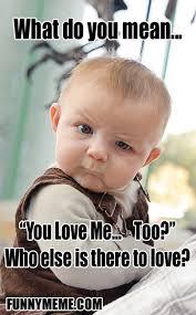 Skeptical Baby Meme (20 Pics) via Relatably.com