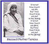 essay on my role model mother teresawhy to love or admire mother teresa