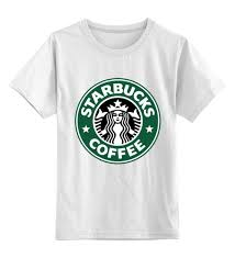 Детская <b>футболка</b> классическая унисекс starbucks <b>coffee</b> #732860 ...