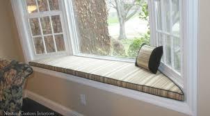window seat cushions ideas interior decor bay window seat cushion