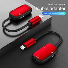 3 in 1 Audio Adapter charging Earphone Cable Jack headset For <b>8</b> ...