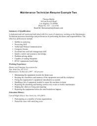 maintenance mechanic resume sample   miuv resume better than bestautomotive technician resume examples