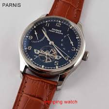 Detail Feedback Questions about <b>Parnis Black Dial</b> Silver steel ...