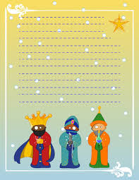 christmas stationery writing templates to send to santa melchior gaspar and balthazar christmas letters wisesmen 3 wisemen design paper