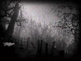 Image result for rain in dark pictures