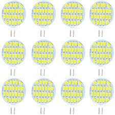 Jenyolon <b>G4</b> LED <b>Light Bulb</b> 3W, AC/DC 12V, 400 Lumens, Non ...