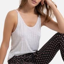 Пижама-<b>однотонный</b> тои и низ с принтом черный/ слоновая ...