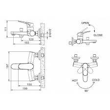 <b>Смеситель для душа Bravat</b> Eler Eler F00450CP F00450CP в ...